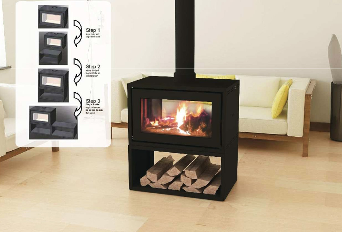 taurus pf4 double sided fireplace